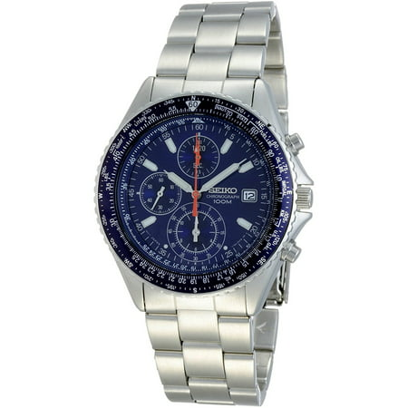 SND255P1,Men's Flightmaster Pilot Slide Rule Chronograph Stainless steel Case & Bracelet SND255