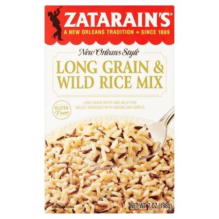 Zatarain's New Orleans Style Long Grain & Wild Rice, 7 oz