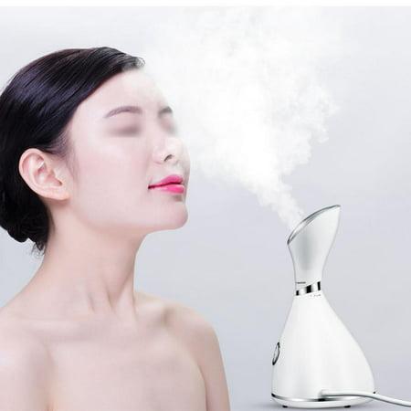 Yosoo Nano Water Spray,Nano Water Spray Facial Steamer Moistruizing Sprayer Cosmetic Mister Skin Beauty Care US Plug - image 8 de 8