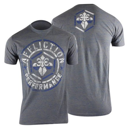 Affliction Mens Build Up T-Shirt - (Affliction Tee Shirts)