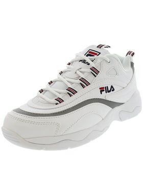 White Fila Womens Athletic Shoes