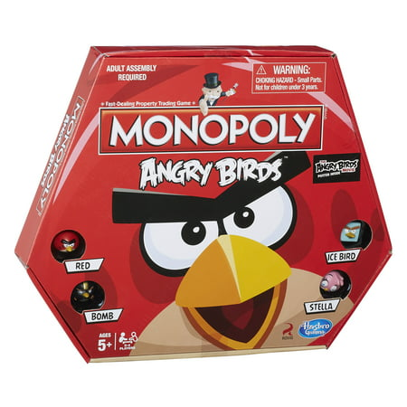 Monopoly Game: Angry Birds Edition - Monopoly Classic Edition