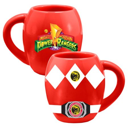 Ronbow Oval Ceramic - Vandor LLC Power Rangers Ceramic Oval 18 oz. Mug