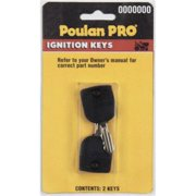 Poulan PP60005 531307226 Replacement Ignition Key - 2 Pack