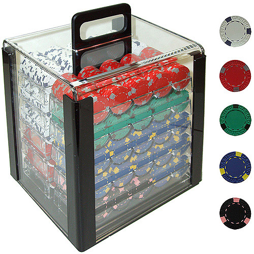Trademark Poker 1000 13 Gram Professional Clay Casino Chips with Aluminum Case by TRADEMARK GAMES INC