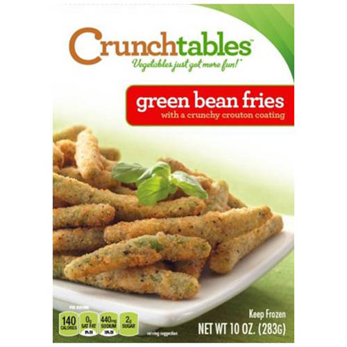 CRUNCHtables Crouton Coated Green Bean Fries, 10 oz