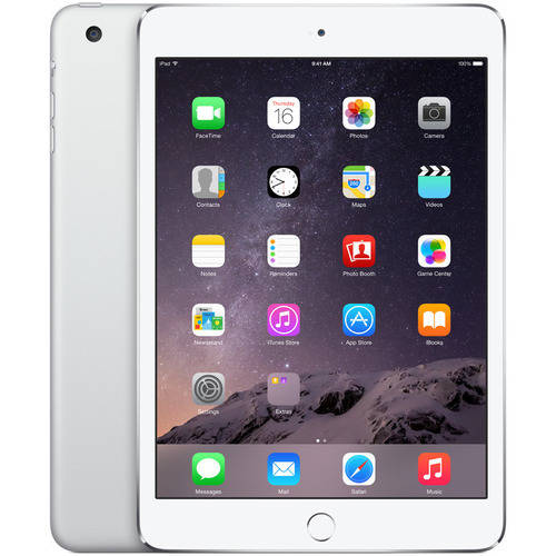 Apple iPad Mini 3 64GB Wi-Fi Refurbished, Silver