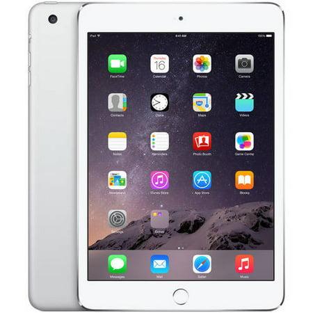 Apple Ipad Mini 3 64Gb Wi Fi Refurbished  Silver