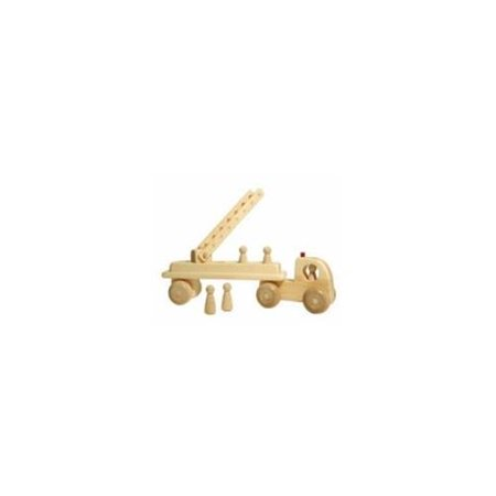 Wooden Toy Truck - Wooden Fire Truck Toy - Toys Made in USA