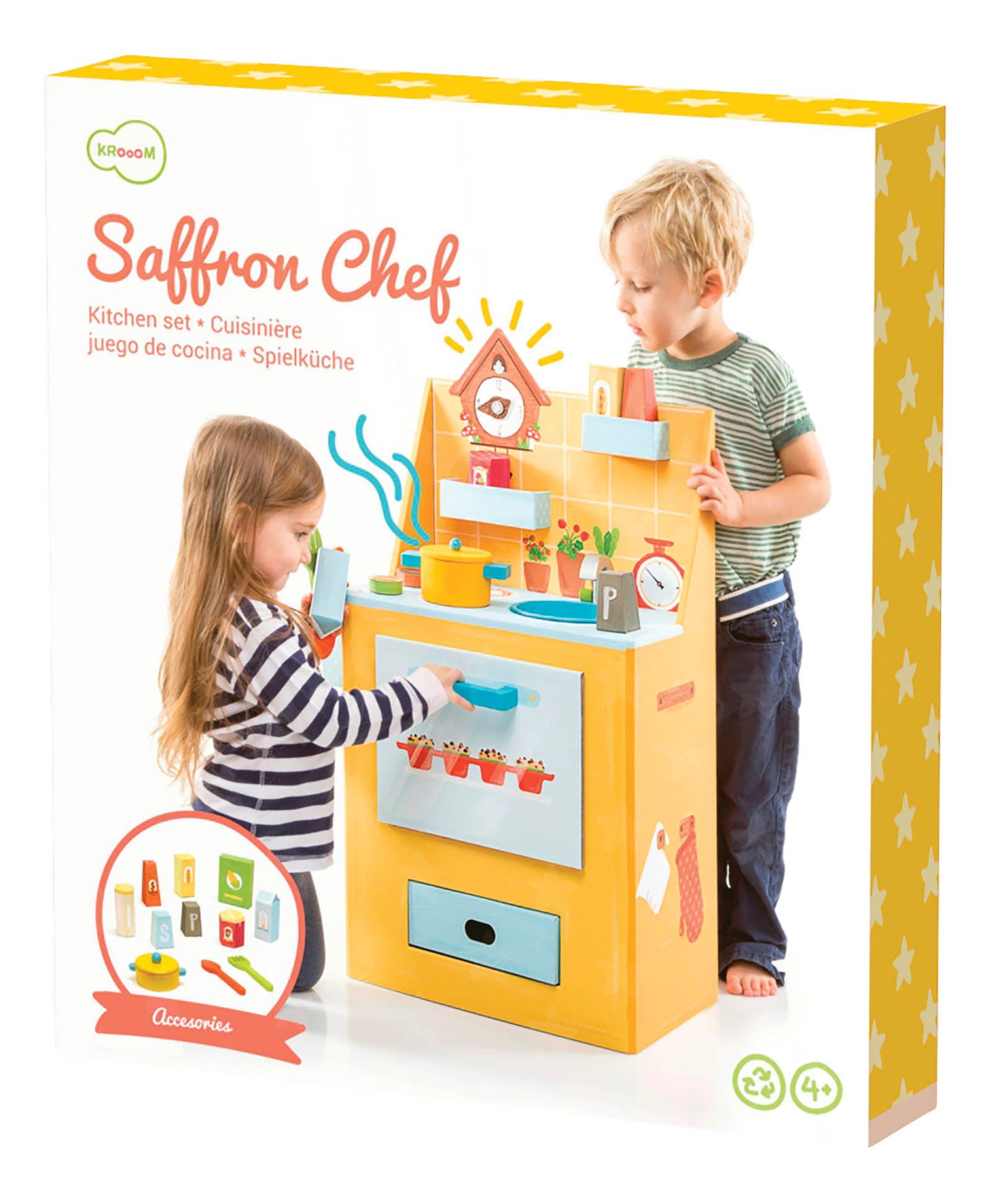 Krooom Saffron Chef Kitchen Playset - Walmart.com