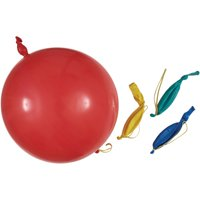 Punch Ball Balloons, Assorted 4ct