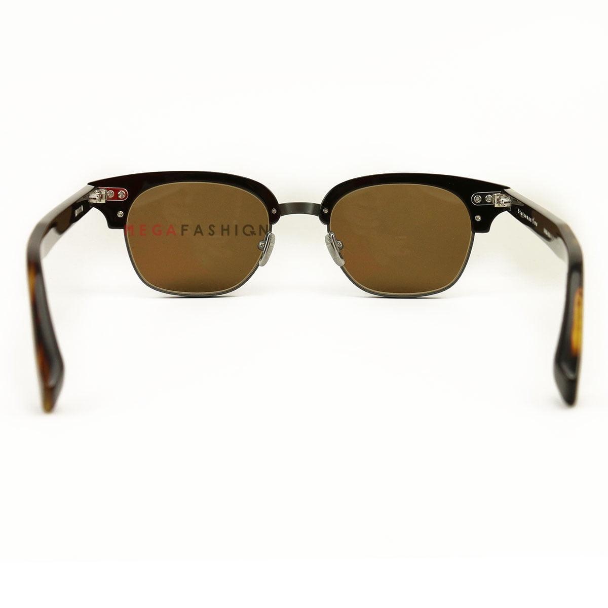 8917bf2119de Dita - Dita Oval Sunglasses DRX-2051 Statesman Two E-T-TRT-GUN Tortoise Gunmetal  DRX-2051 - Walmart.com