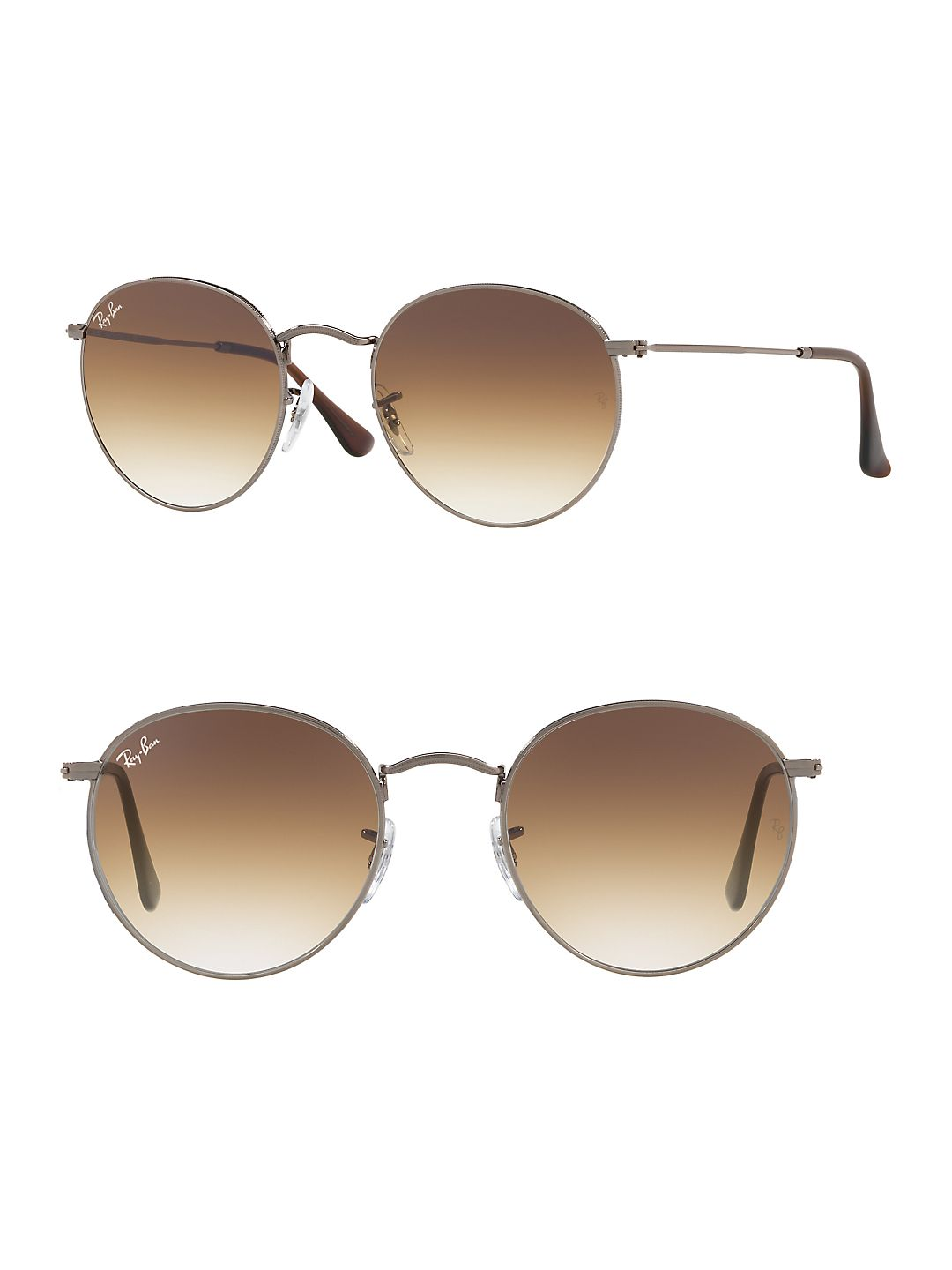 Ray-Ban Unisex RB3447N Round Metal Sunglasses, 50mm