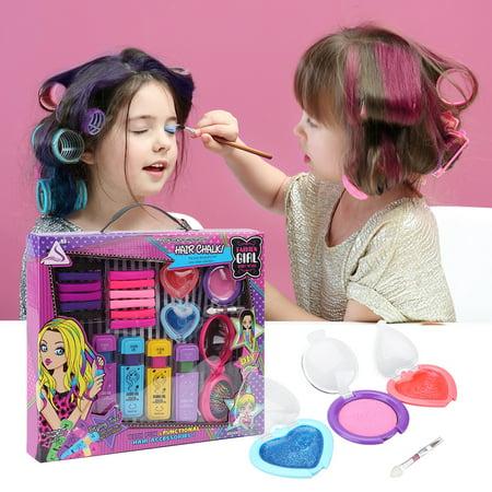 Shinehalo J-507 Portable Styling Temporary Hair Chalk Set ...