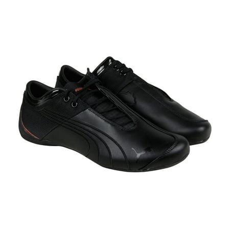 chaussures de sport 0042a d17e6 PUMA - Puma Future Cat M1 Citi Mens Black Leather Lace Up ...