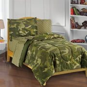 My Room Green Geo Camo Bed in a Bag Bedding Set, Multiple Sizes