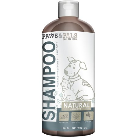 - OxGord Organic Oatmeal Dog Shampoo & Conditioner 100% Natural 20 oz- Clinical Vet Formula Wash For All Pets