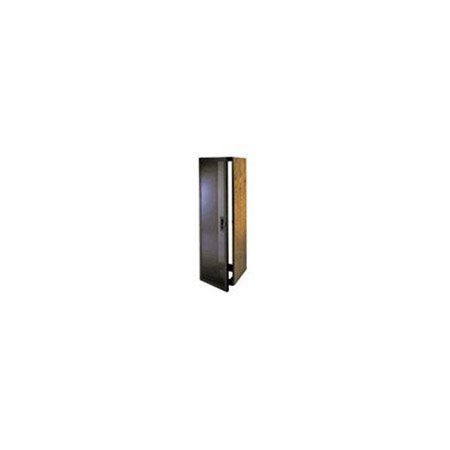 Middle Atlantic Products RK-GD10 Smoked Tempered Glass Front Door for 10 Space RK Series (Front Door With Wrought Iron And Glass)