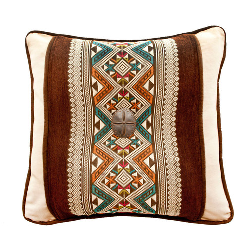Silverado Home Navarro and Panama Throw Pillow