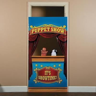In 13748589 Plastic Puppet Show Door Banner