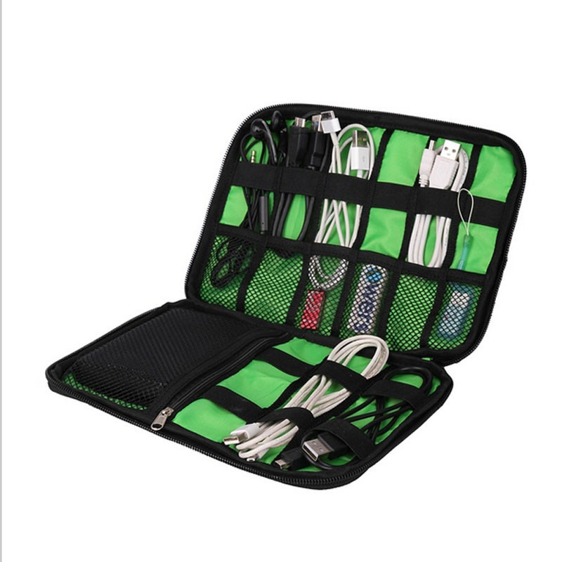 Electronics Organizer,Electronic Accessories Cable Organizer Bag Waterproof Travel Cable Storage Bag for... by Mancro