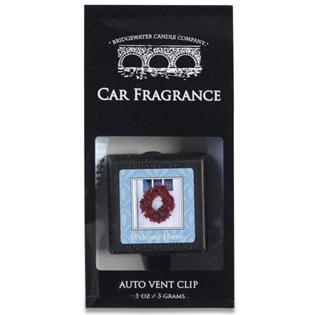 Bridgewater Candle Auto Vent Clip   Welcome Home