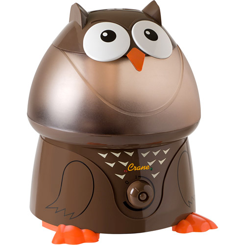 Crane Ultrasonic Cool Mist 1-Gallon Humidifier, Owl
