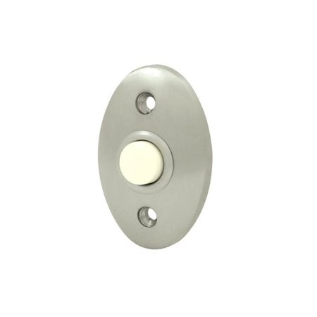 Solid Brass Standard Bell Button (Polished Brass)