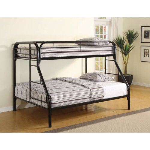 Zoomie Kids Jenning Classic Twin Over Full Bunk Bed