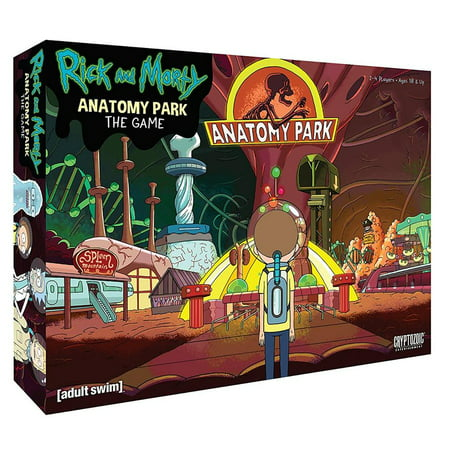 Rick & Morty Anatomy Park - Anatomy Games