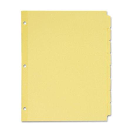 Avery Write On Plain Tab Dividers 8 Tab Letter 24 Sets Walmart