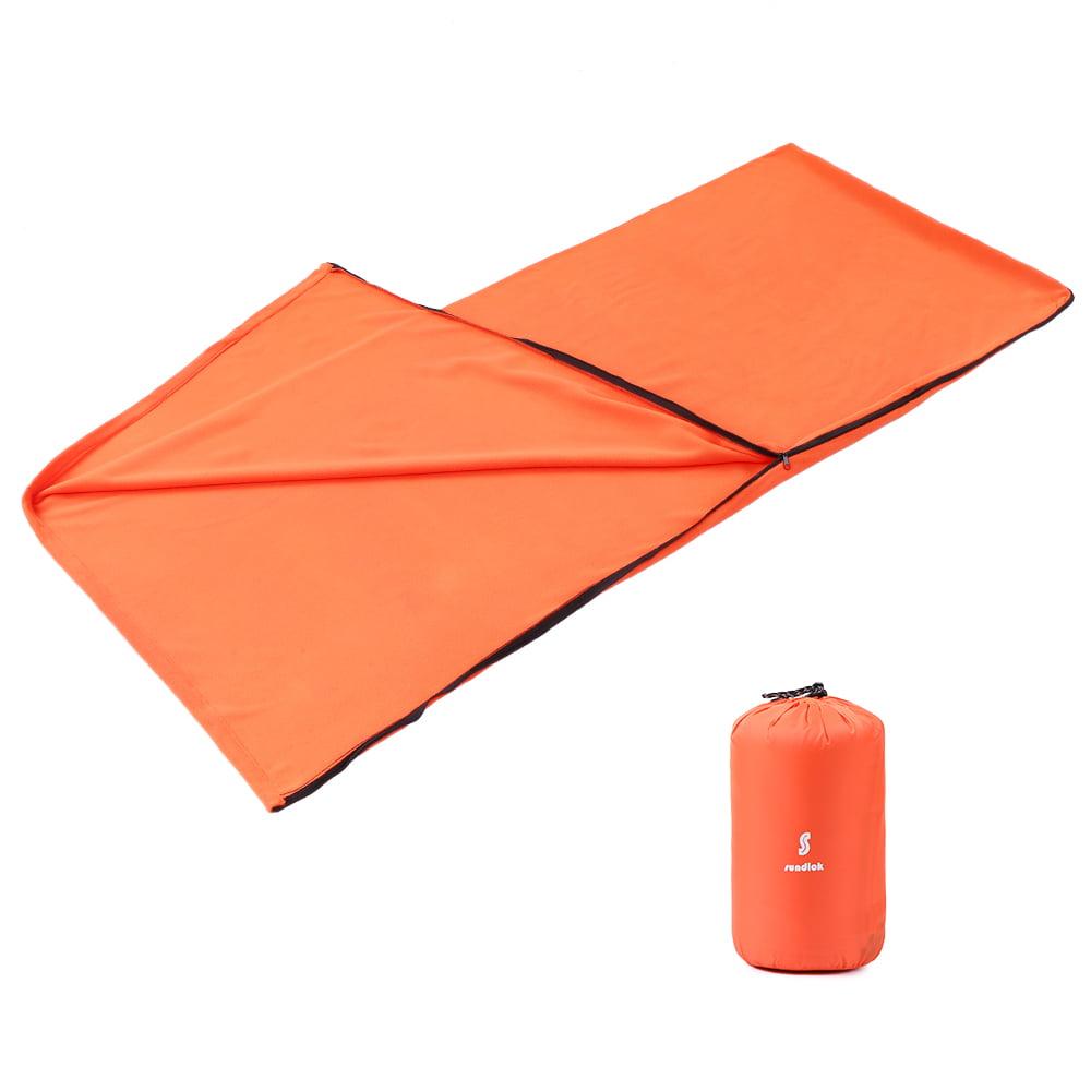 Adults Envelope Sleeping Bag Winter Sleeping Bag Liner Warm Fleece Blanket