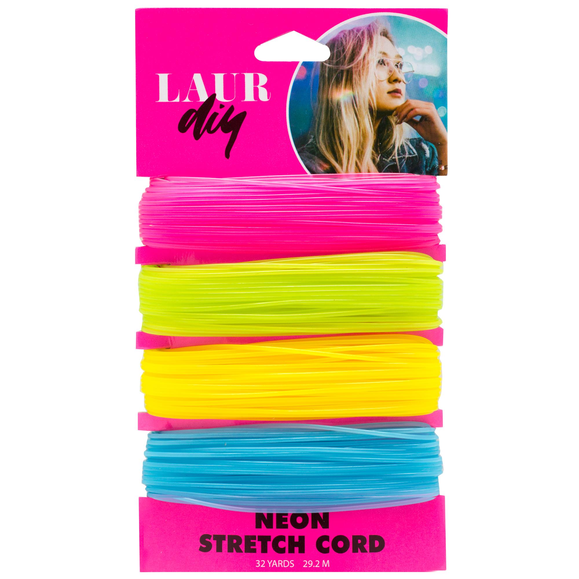 LaurDIY Neon Stretch Cord
