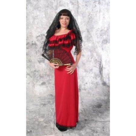 Spanish Lady Costume - Spaniard Costume