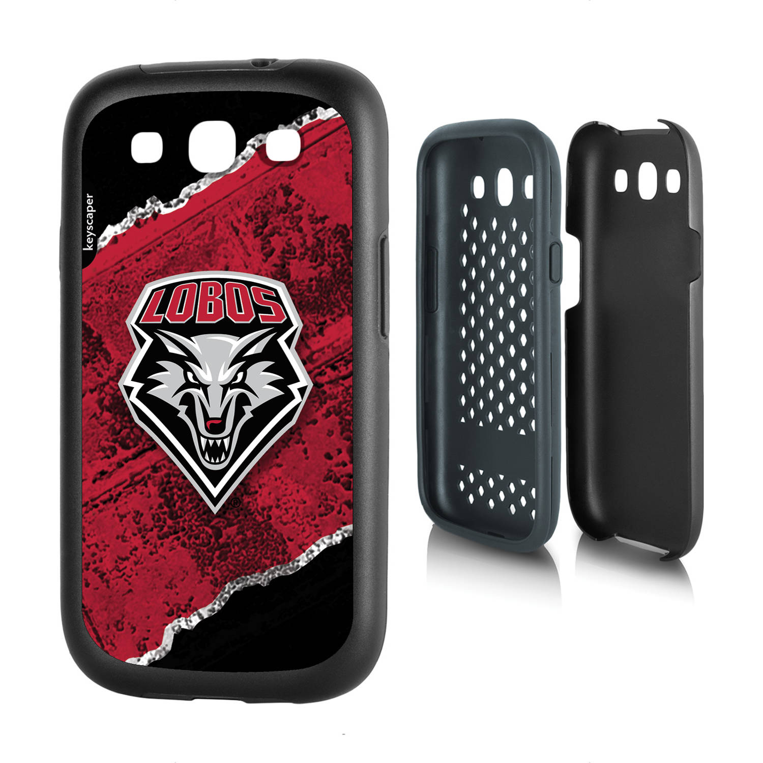 New Mexico Lobos Galaxy S3 Rugged Case