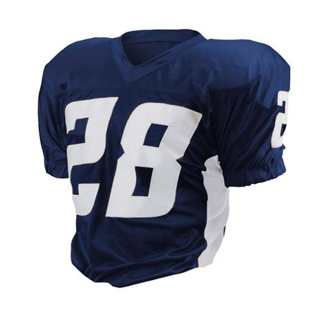 Intensity N3140065XLG Men Football Game Jersey, Navy & White - Extra Large - image 1 of 1