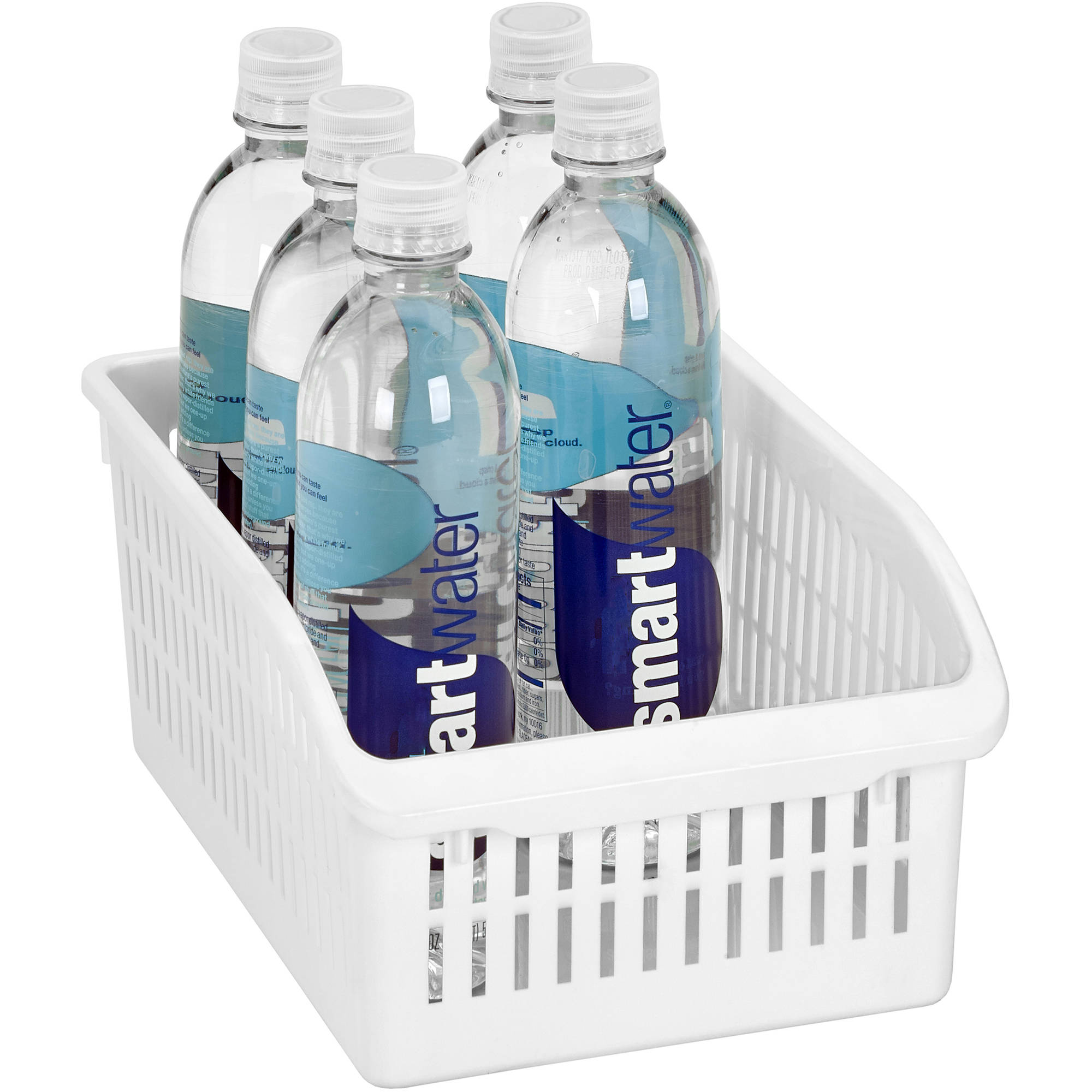 Kitchen Details Easy Pull Pantry Organizer Basket, Double Wide