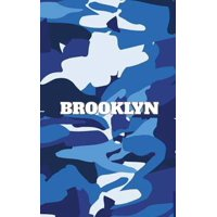 Brooklyn blue camouflage Creative journal Sir Michael Huhn Artist designer Edition (Paperback)