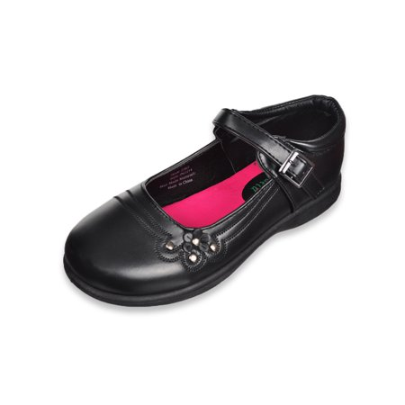 petalia girls' mary jane shoes (sizes (4 - 7) (bobs shoes for girls size 7)