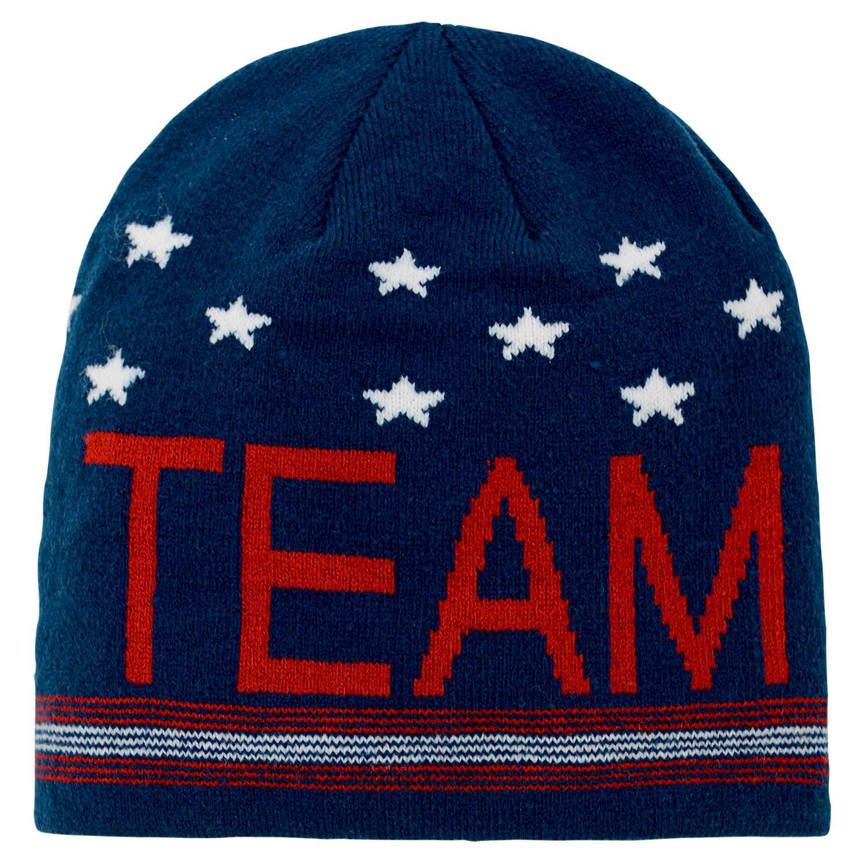 "Team USA Olympic Games ""Scripto"" Cuffless Knit Hat by Genuine Stuff"
