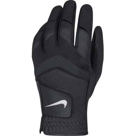 Nike Mens Dura Feel Golf Glove Cadet Medium Left Black