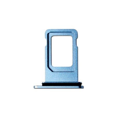 Blue Ultra Slim Cellular Phone - Single Card SIM Card Tray for Blue Apple iPhone XR A1984, A2105, A2106, A2108  (6.1