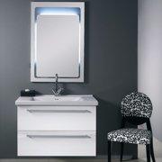 Iotti by Nameeks Fly 37'' Single Wall Mounted Bathroom Vanity Set with Mirror