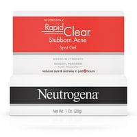 Neutrogena Rapid Clear Stubborn Acne Spot Gel, 1 Oz