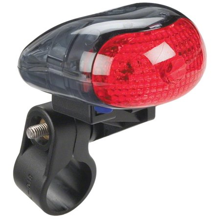 Planet Bike Blinky 1 Taillight: Red/Black Planet Bike Blinky Super Flash