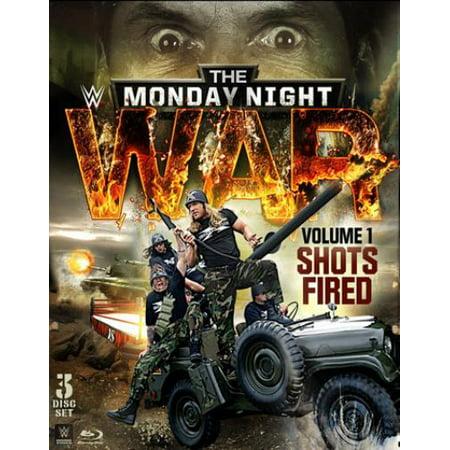 Wwe  The Monday Night War   Volume 1  Shots Fired  Blu Ray