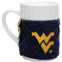 West Virginia Mountaineers Cable Knit Sweater Coffee Mug