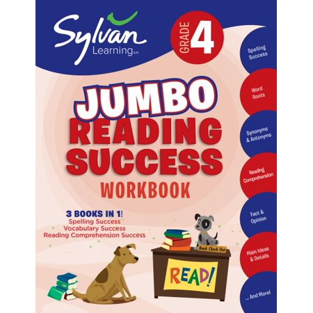 Halloween Reading Activities Grade 4 (4th Grade Jumbo Reading Success Workbook : 3 Books in 1--Spelling Success, Vocabulary Success, Reading Comprehension Success; Activities, Exercises & Tips to Help Catch Up, Keep Up & Get)