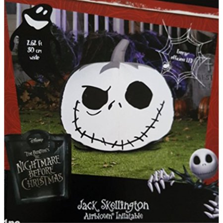 Pumpkin Jack (Nightmare Before Christmas Jack Skellington Pumpkin Airblown Inflatable)