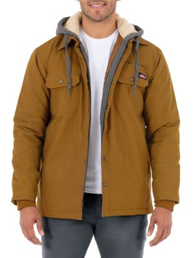 Genuine Dickies Men's Flex Canvas Shirt Jacket